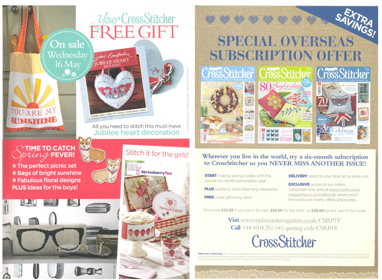 Cross Stitcher - May 2012