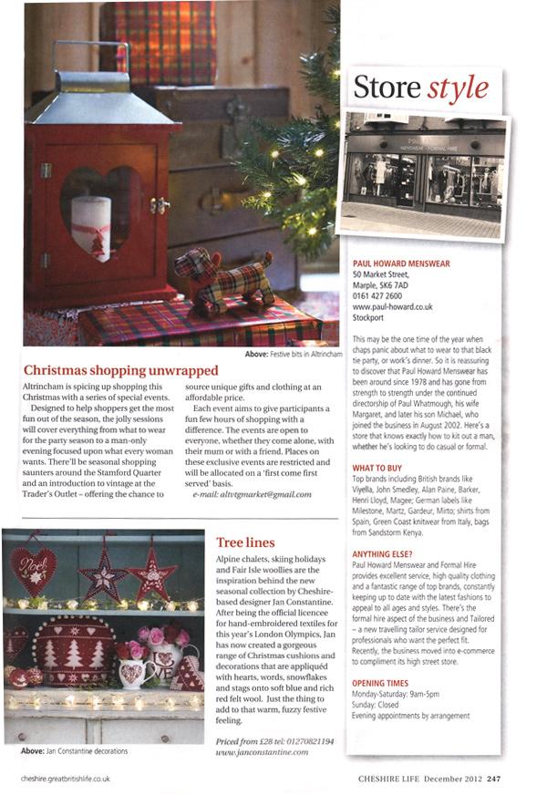 Cheshire Life - December 2012