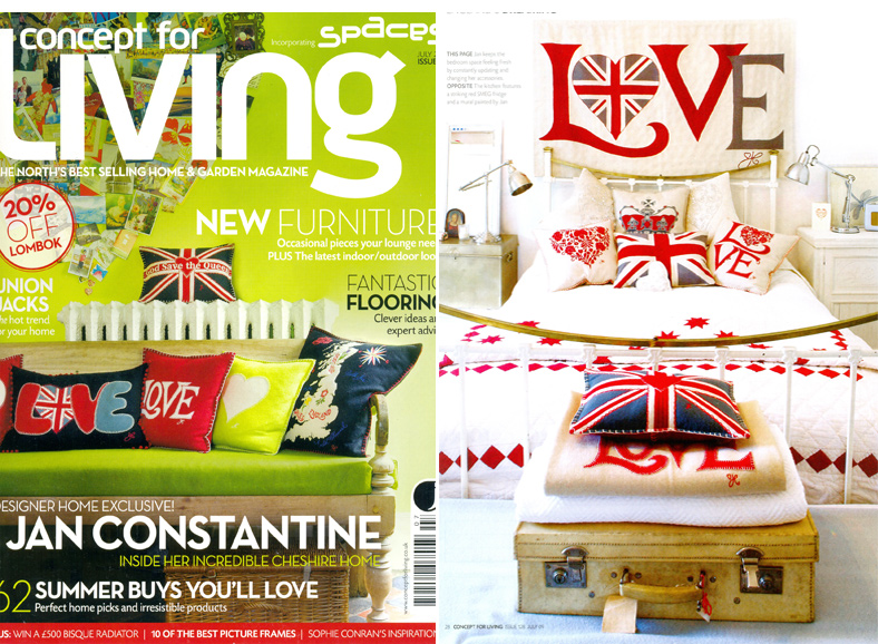 Concept For Living Front Cover - July 2009