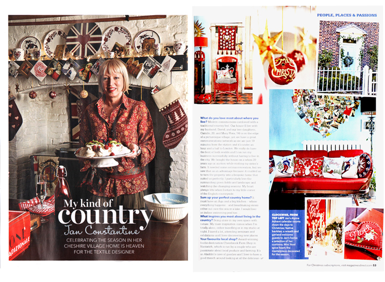 Country Homes and Interiors - January 2013