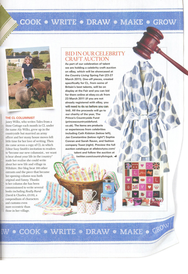 Country Living - April 2011
