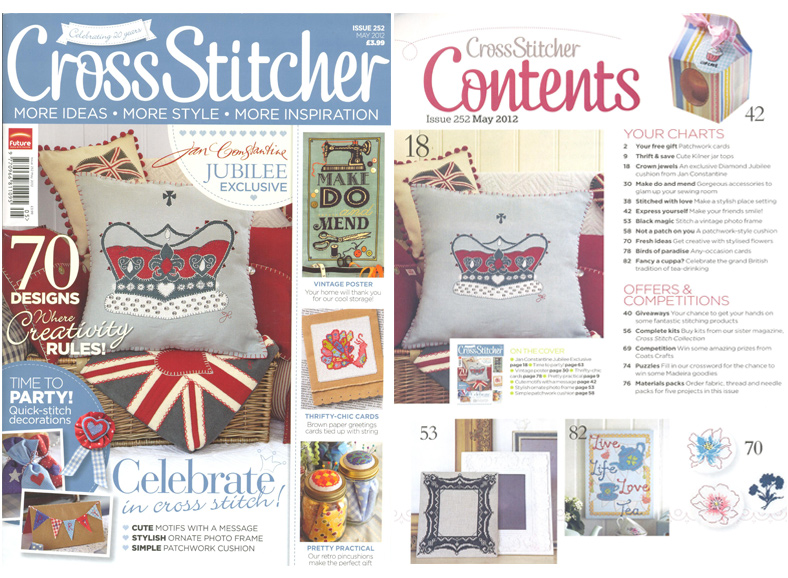 Cross Stitcher Front Cover - May 2012