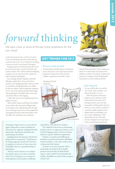 Gift Focus Magazine - January/February 2012