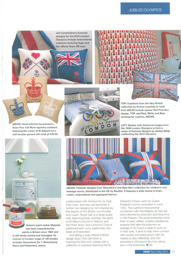Home Decor And Furnishings - May 2012