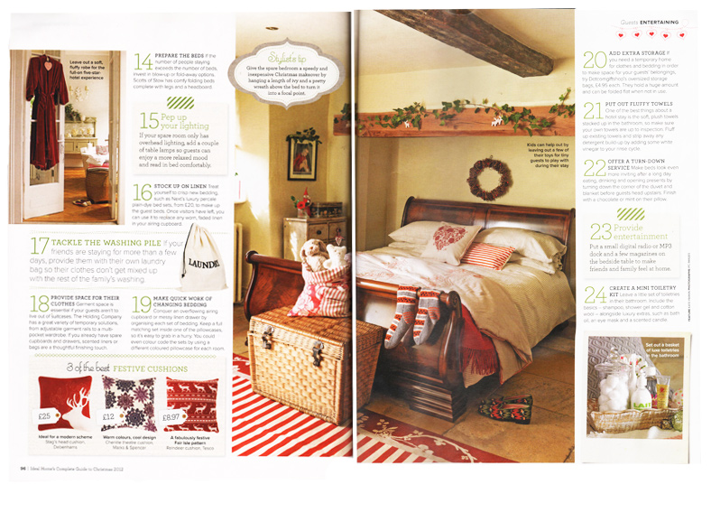 Ideal Homes complete guide to Christmas - 2012