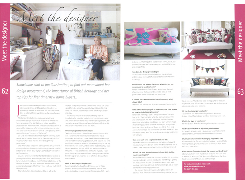 Showhome - June/July 2012