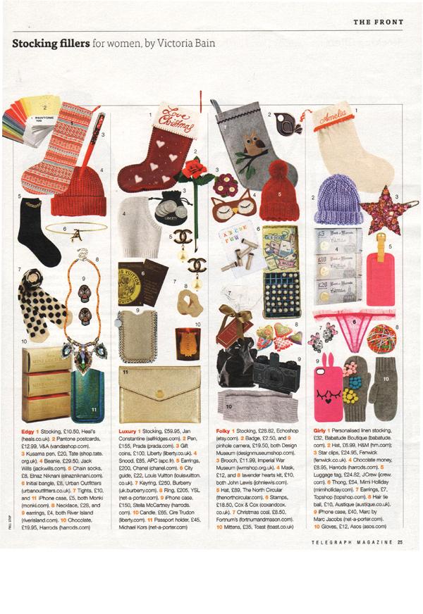 Telegraph Magazine - December 15th 2012