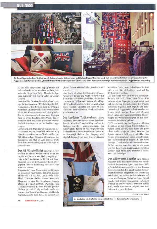 Textil Wirtschaft - July 2012